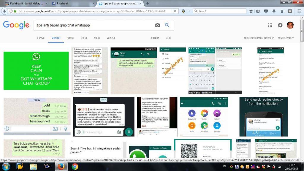 Lima tips waras bersosial dalam grup chat Whatsapp