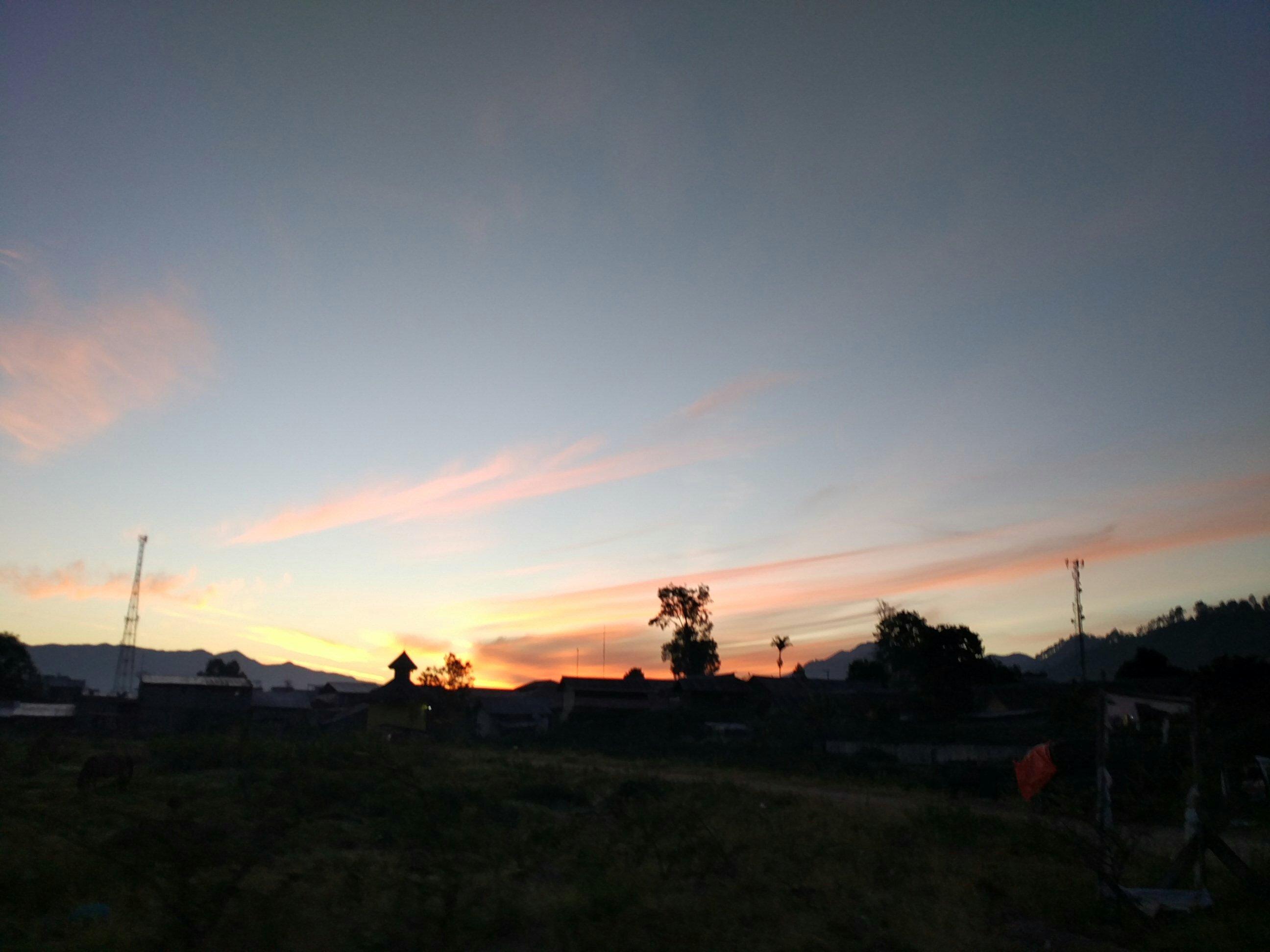 Jurnal Fotopuisi #4 Matahari Terbit dari Takengon